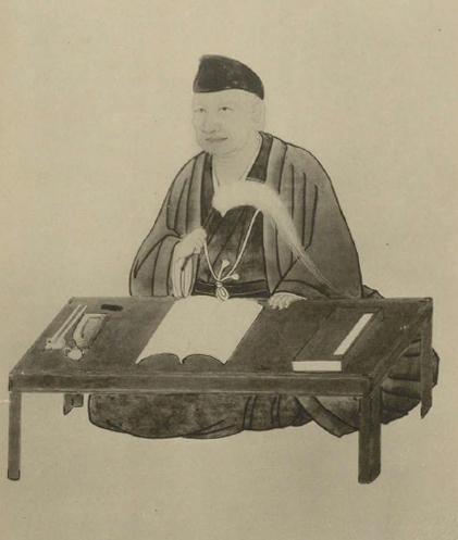村井琴山肖像