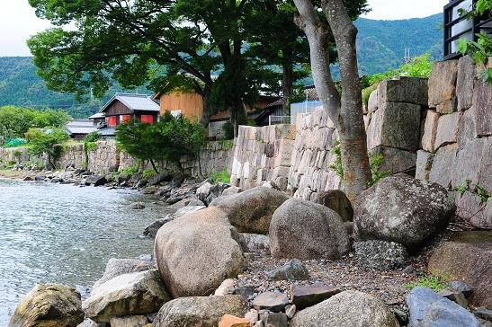 江戸期石垣
