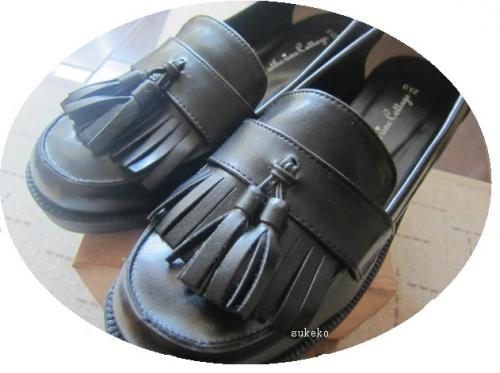 卒業式の靴