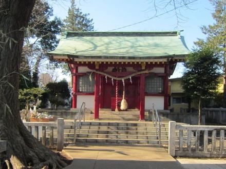 2015.1.5 粕谷八幡神社
