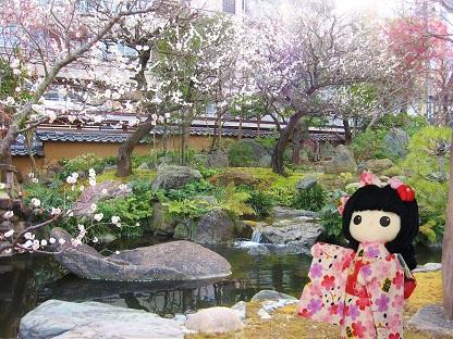 和風庭園です