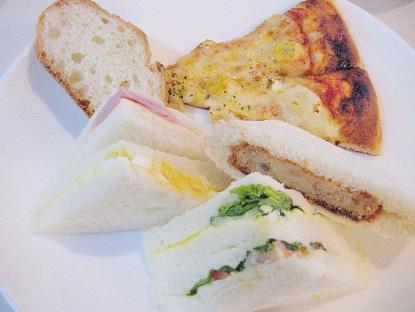 美味しいサンドイッチ