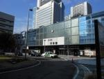 千早駅(JR側)2015.1.24