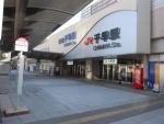 千早駅(西鉄側)2015.1.24
