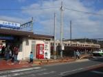 新宮駅と313形(2015.1.24)