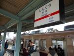 新宮駅駅名標と313