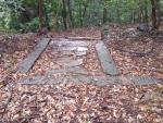 神社の石畳