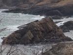 安山岩の柱状節理2