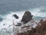 経ヶ岬の安山岩