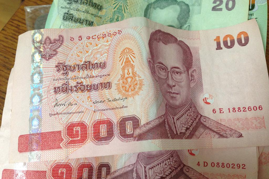 タイ王国の紙幣
