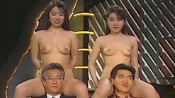 ※画像・動画有 2大引退芸人の背後に全裸の美女がwww90年代の挑戦的な地上波放送サイコーwww