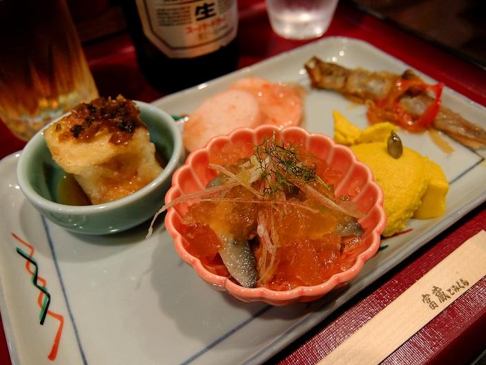活麺富蔵おばんざい1