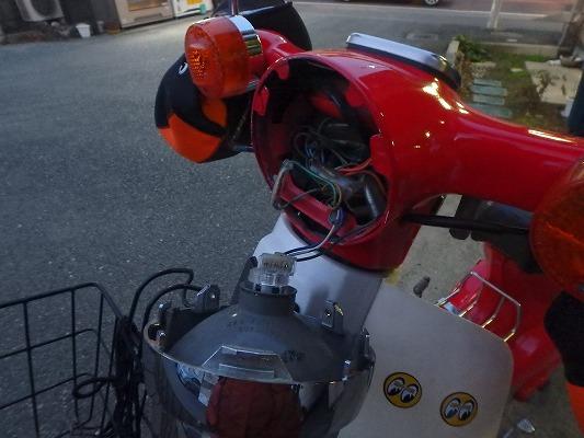 ヘッドライトソケット交換 8