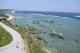 灯台の展望台からの景色