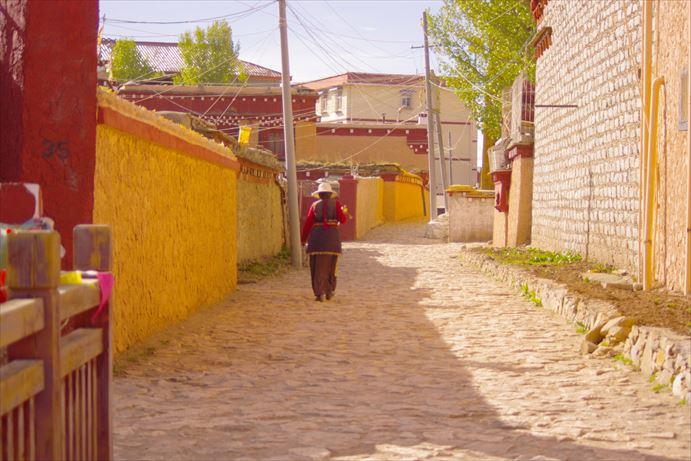 理塘寺までの道のり (19)_R