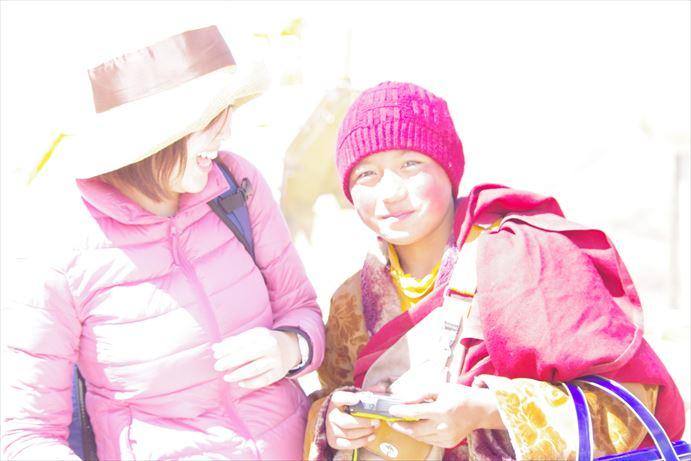ラルンガルゴンパ:チベット小僧が撮った (17)_R