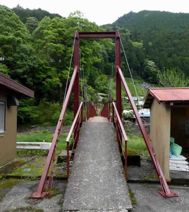 粟原・下の吊橋1