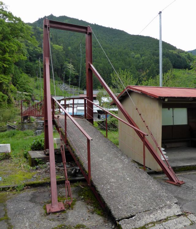 粟原・下の吊橋2