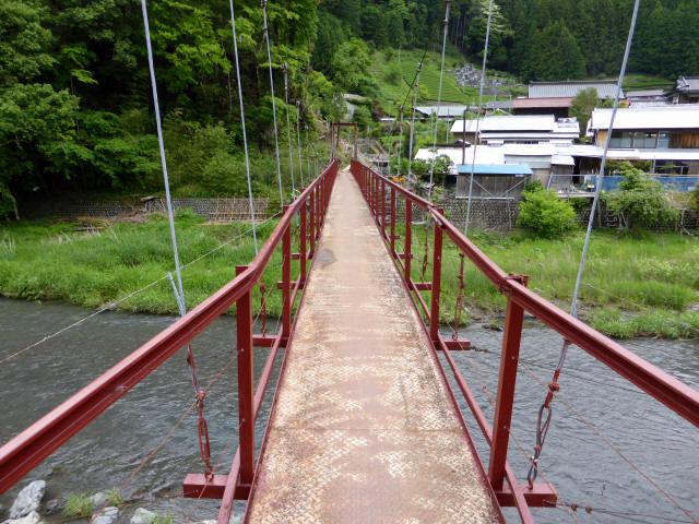 粟原・下の吊橋3