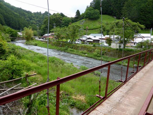 粟原・下の吊橋8