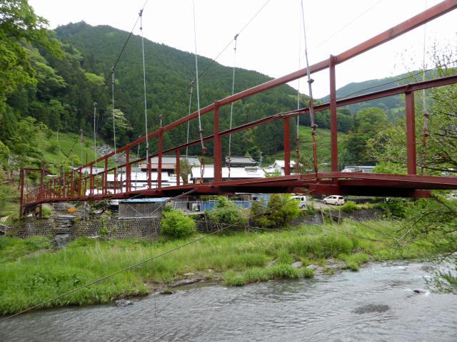 粟原・下の吊橋9