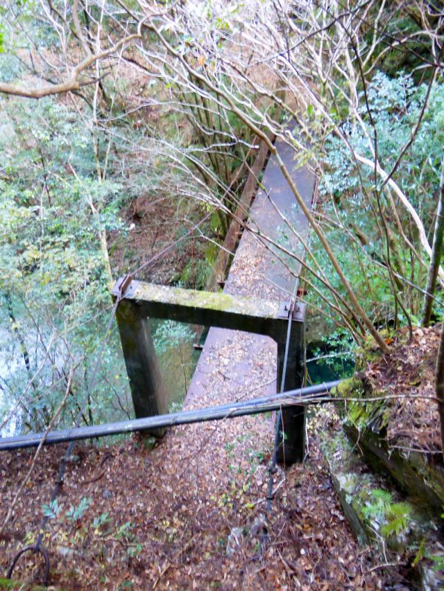 花才谷の吊橋1