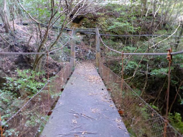 花才谷の吊橋3