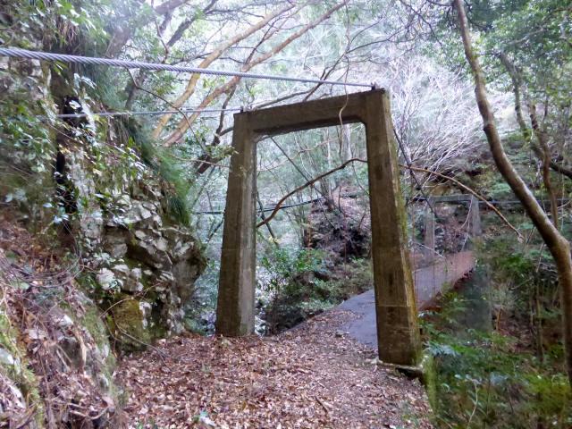 花才谷の吊橋4