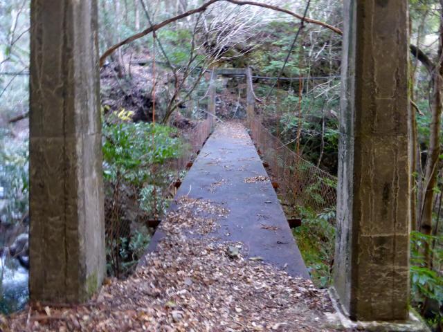 花才谷の吊橋5