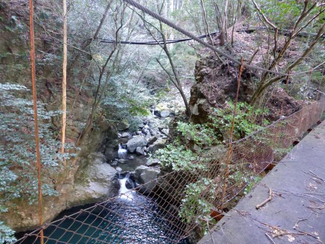 花才谷の吊橋6