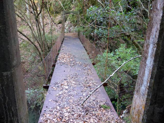 花才谷の吊橋7