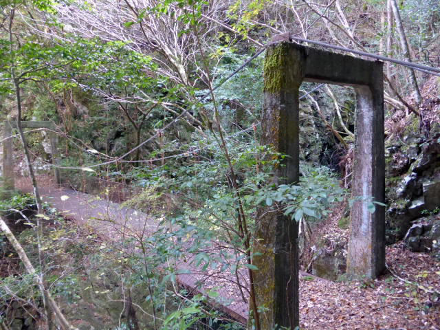 花才谷の吊橋8