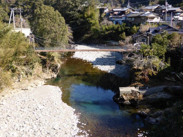 平谷の吊橋1