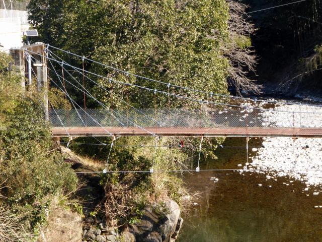 平谷の吊橋2