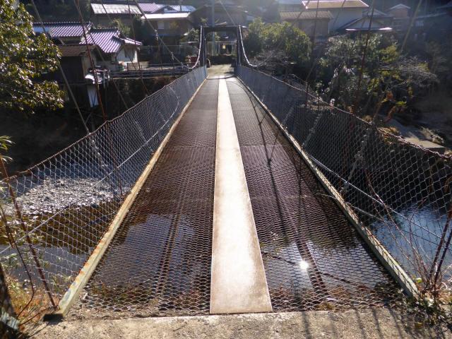 平谷の吊橋4