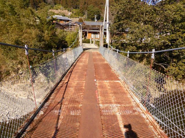 平谷の吊橋6