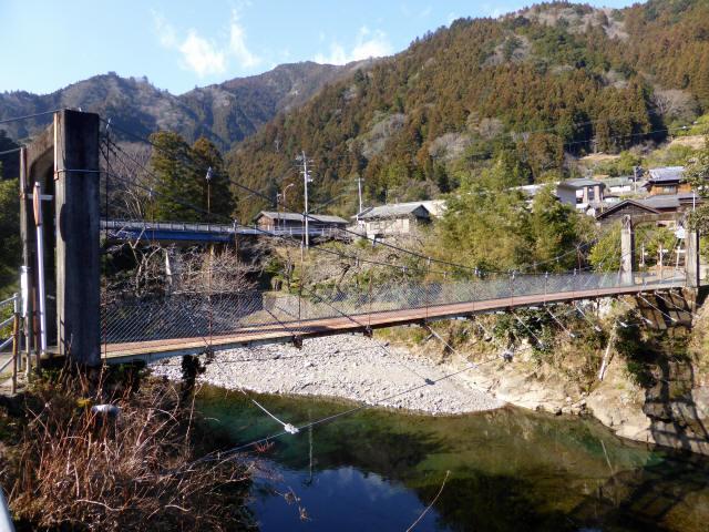 平谷の吊橋7