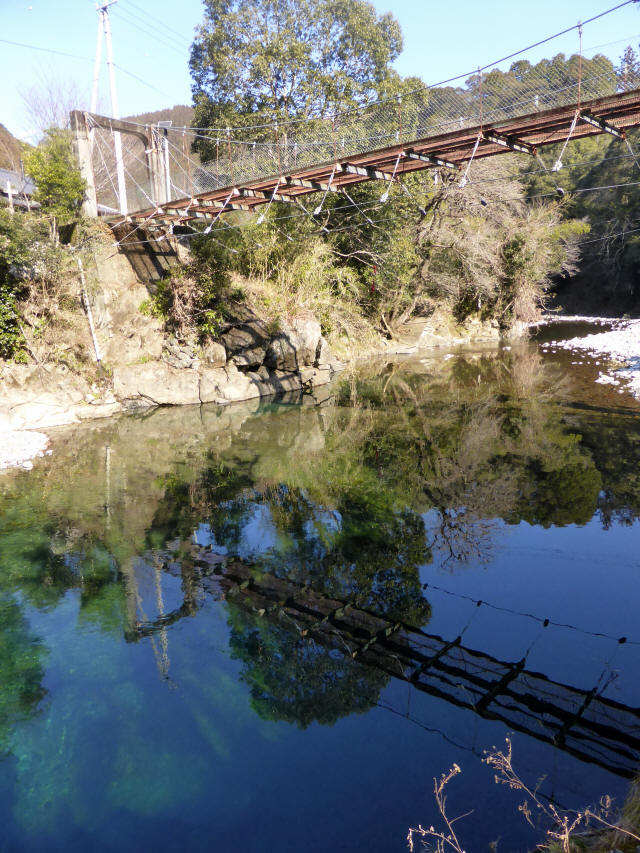 平谷の吊橋9