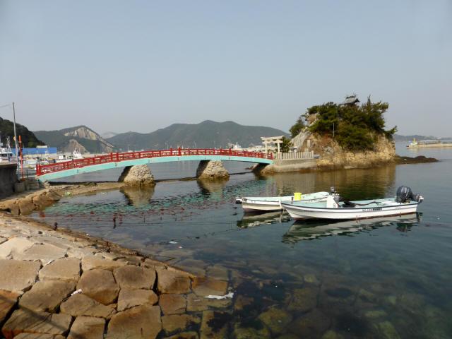 海神社と海神橋1