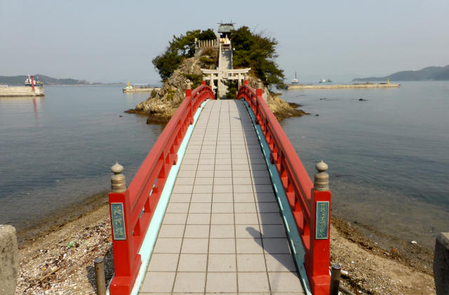 海神社と海神橋2