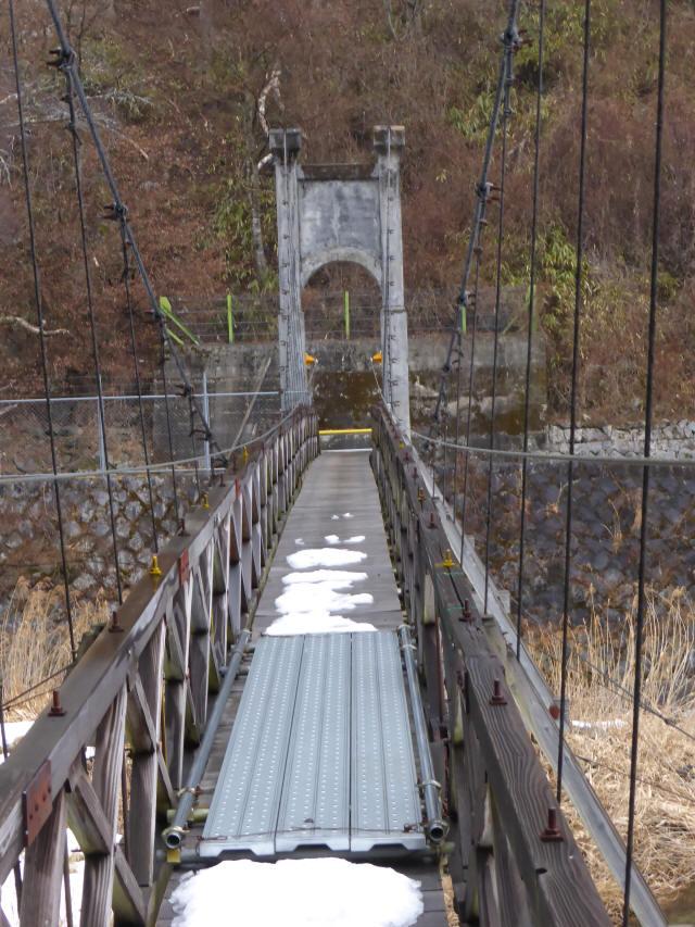 丸畑渓谷の吊橋5