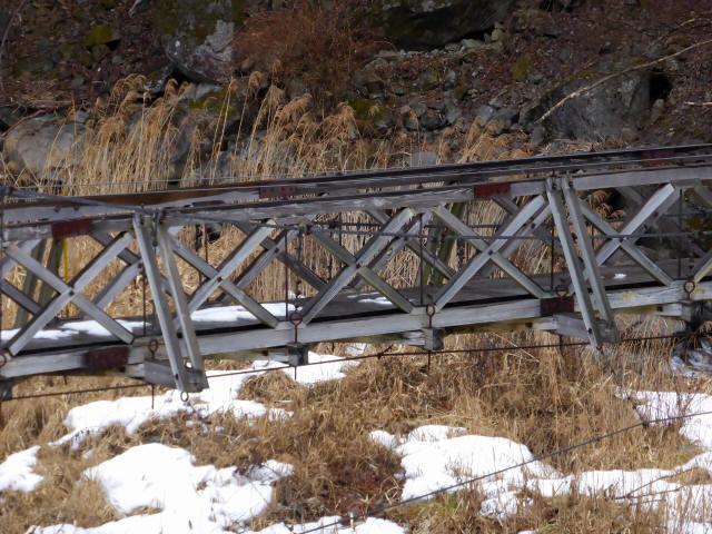 丸畑渓谷の吊橋9