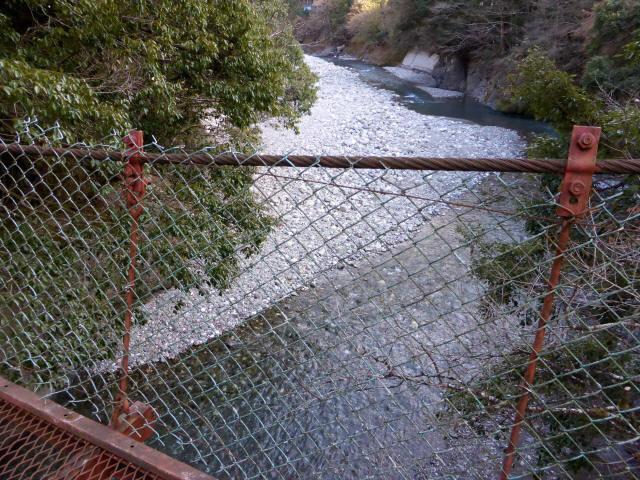折宇の吊橋7