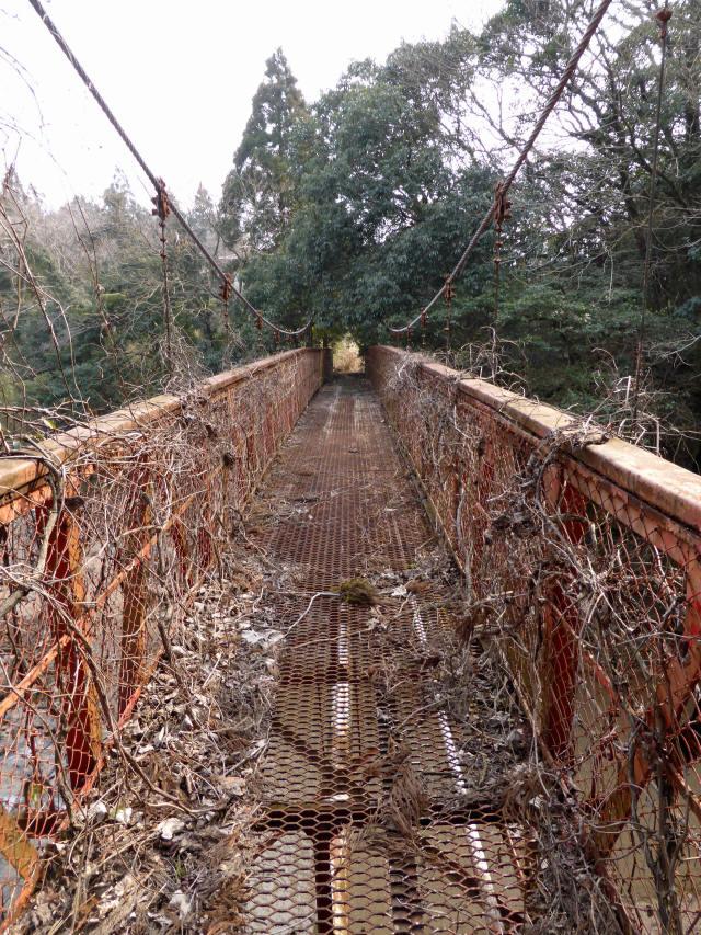 関町新所の吊橋2