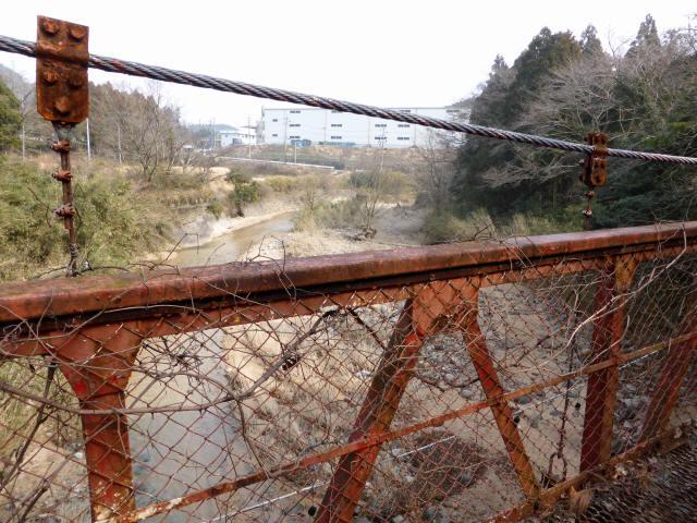 関町新所の吊橋3