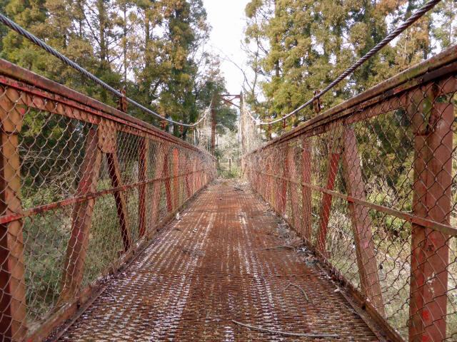 関町新所の吊橋4
