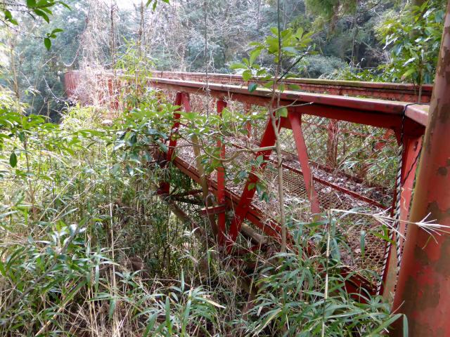 関町新所の吊橋7