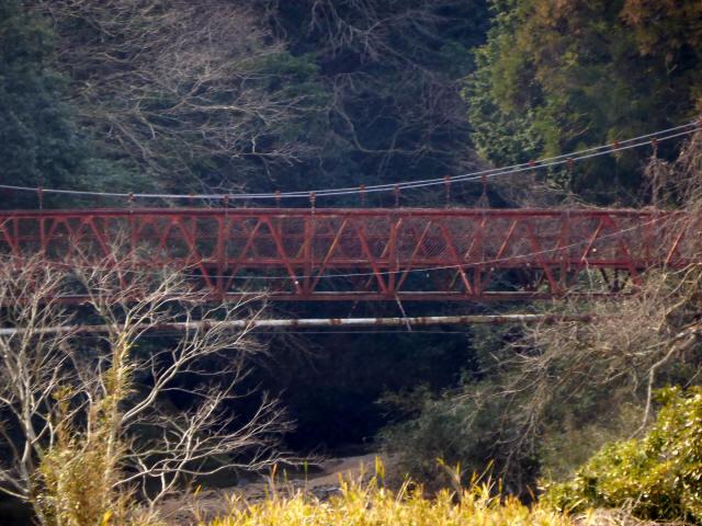 関町新所の吊橋8
