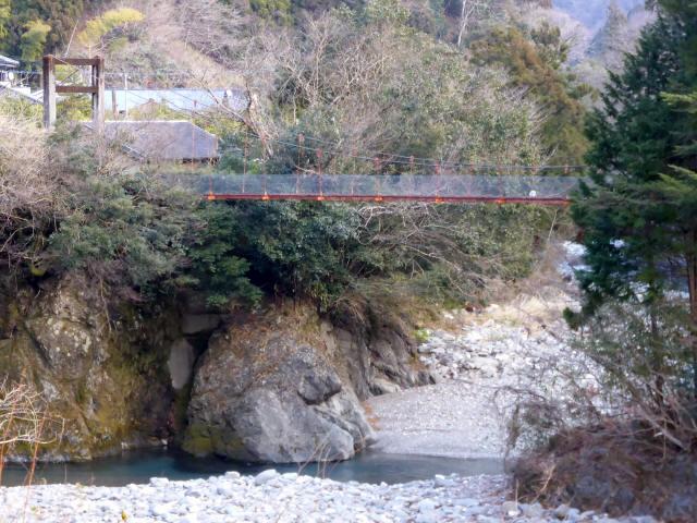 菖蒲野の吊橋1