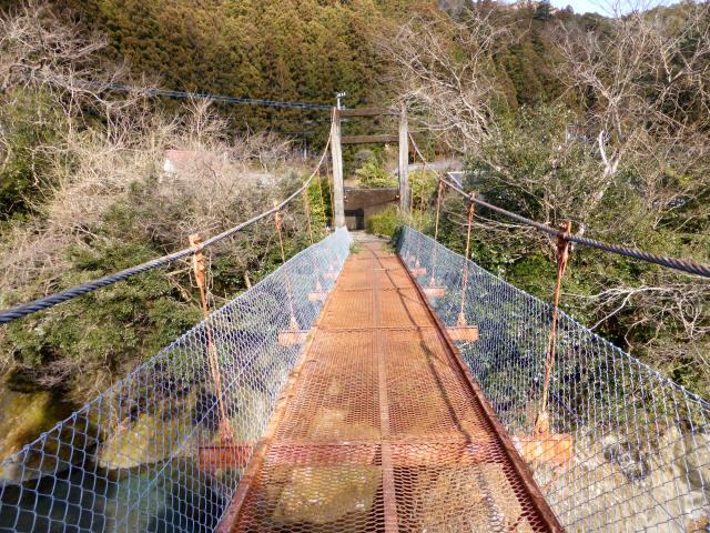 菖蒲野の吊橋5